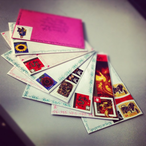 snail mail: cause it's nice not to just get bills in your mailbox